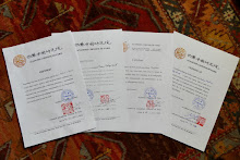 MA PRATIQUE DE LA CALLIGRAPHIE CHINOISE DEPUIS 2009