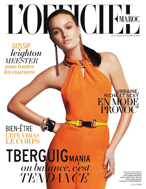 Leighton Meester L'Officiel Magazine Wallpapers