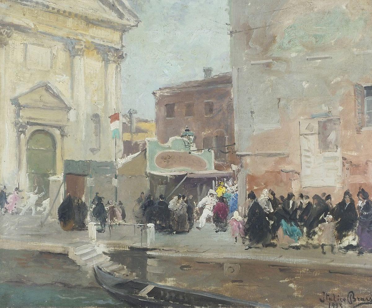 Italico  rass Venezia maschere a San  arnaba