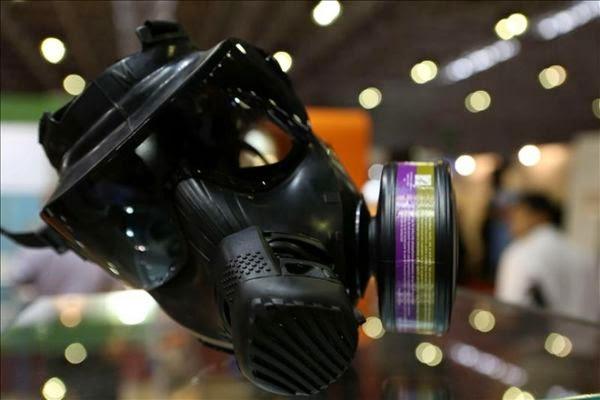 Mascara de los policías en el mundial