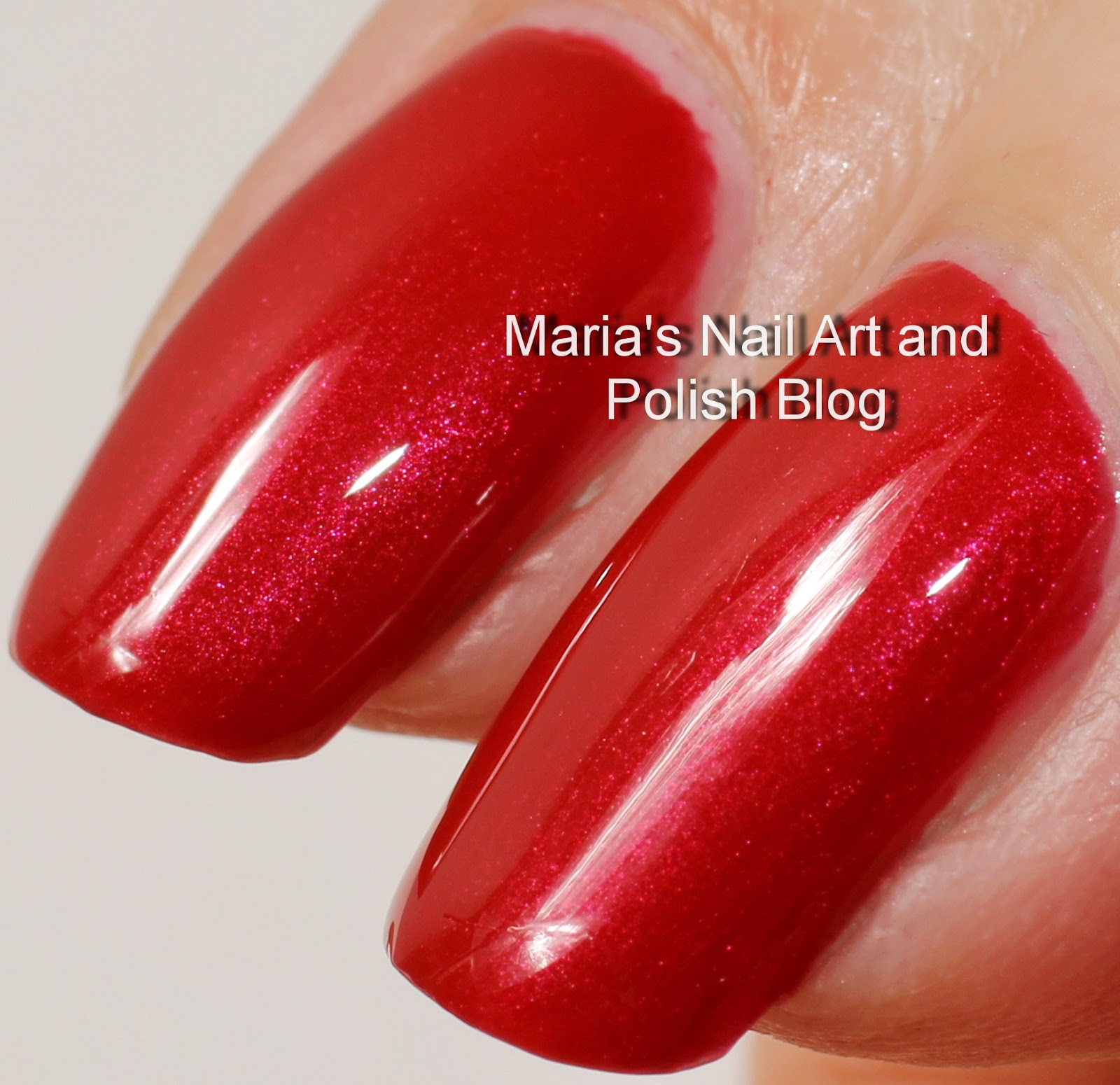 Marias Nail Art And Polish Blog Flushed With Stripes And: Marias Nail Art And Polish Blog: Chanel Shanghai Red 183
