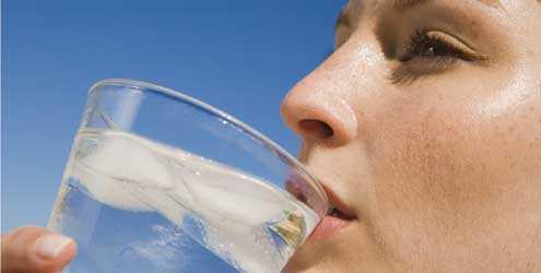 Tomar muita água
