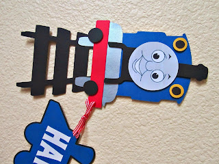 Thomas the Train banner