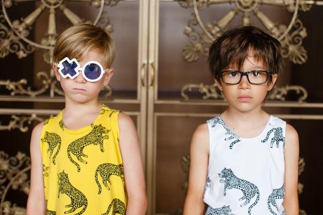 Quinn & Fox spring-summer 2015 - Leopard tees