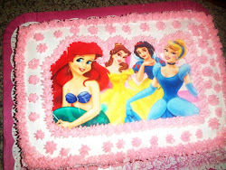 Bolo Princesas Disney