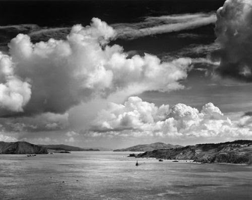 Ansel adams one of the most famous contemporary black and white photographers classic