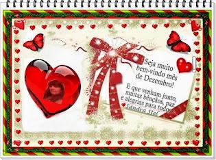 Seja Muito Bem Vindo Dezembro :)