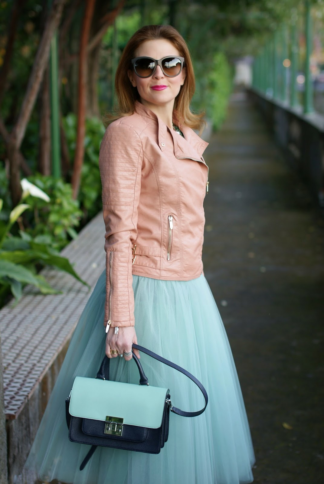 midi tulle skirt, mint tulle skirt, hot trend tulle skirt, Fashion and Cookies, fashion blogger
