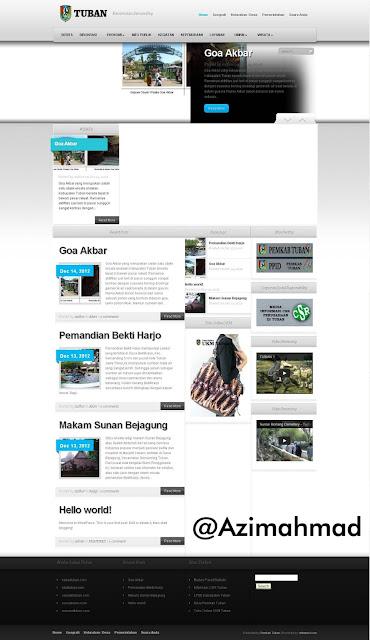 Tubankab.go.id, Website remi Kabupaten Tuban, Website resmi Kabupaten Semanding, Kecamatan Semanding.