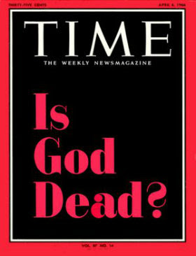 Is God dead? (Time Magazine)