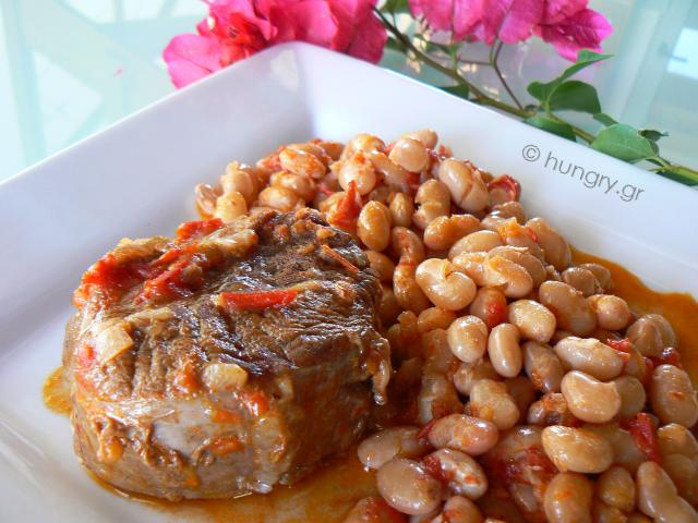 Beef Braised with Beans