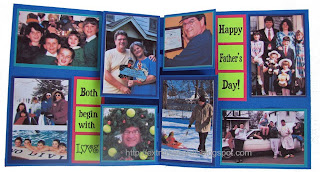 photo album pop up card