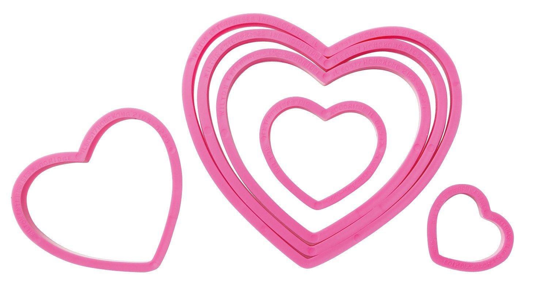 valentine heart cookie cutters
