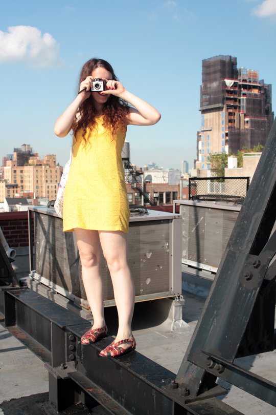 lomography manhattan rooftop