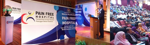 LAUNHCING OF PAIN FREE HOPITAL IPOH PERINGKAT KEBANGSAAN 2011