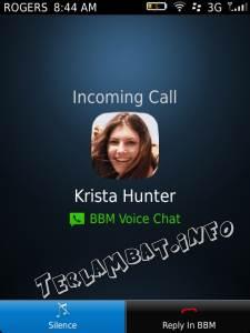 Voice Call BBM 7