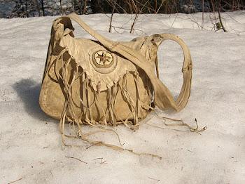 Buckskin Possibles Bag