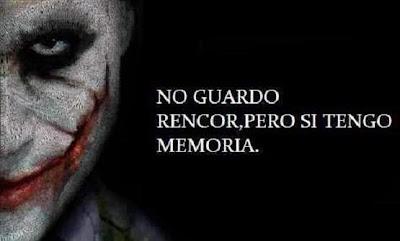 10289798 786849974734600 7705430552557716034 n No Guardo rencor, pero si tengo memoria