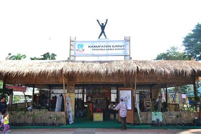 gambar stand kabupaten garut