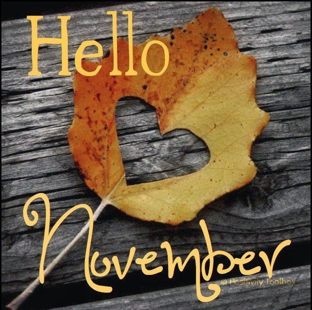 Bairbre Aine: Welcome November