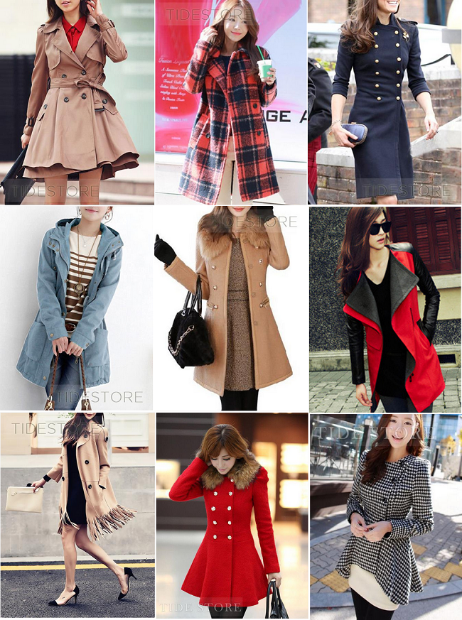 long coats for women