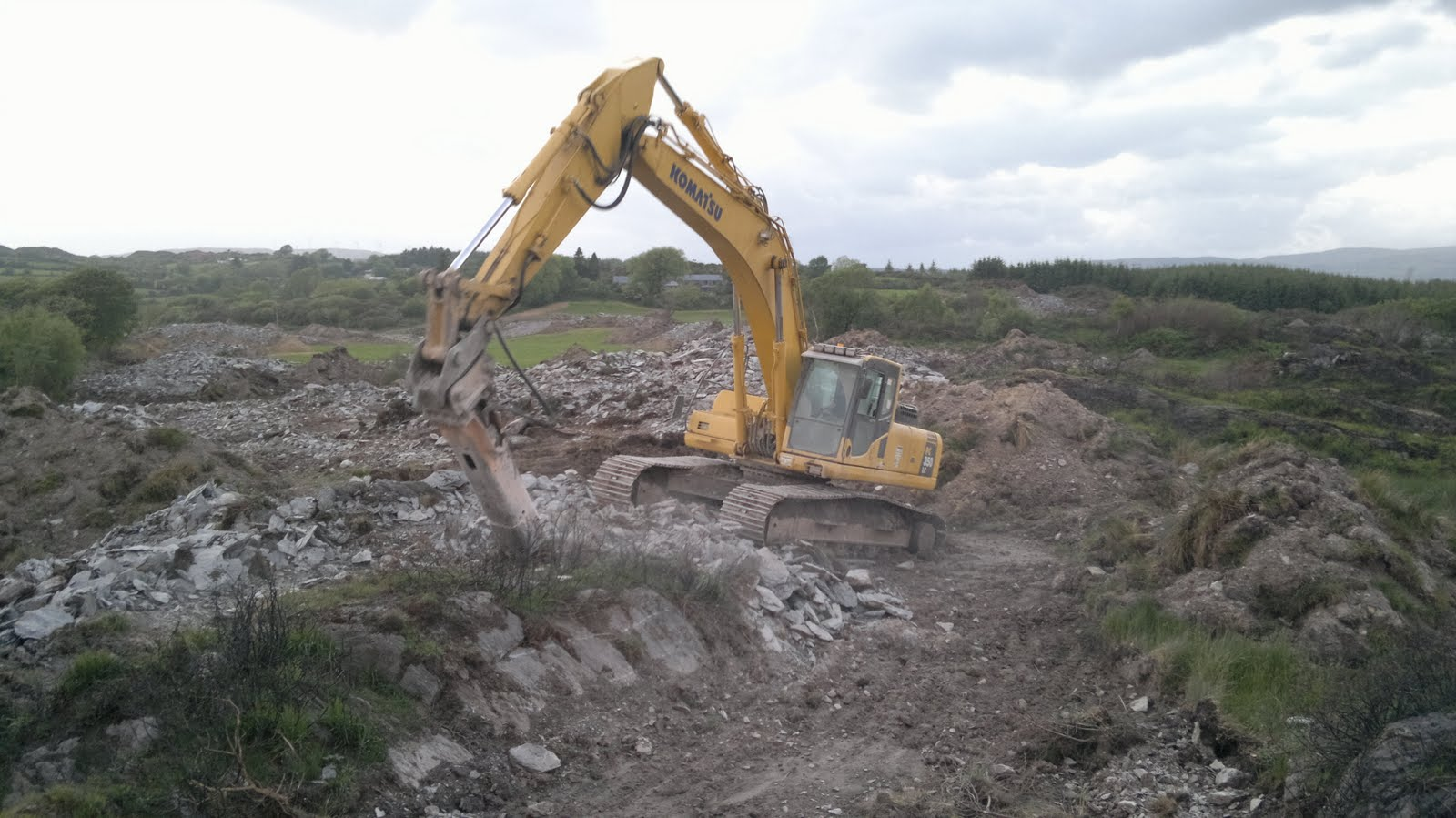 Casey plant hire agricultural land reclamation project for Soil reclamation