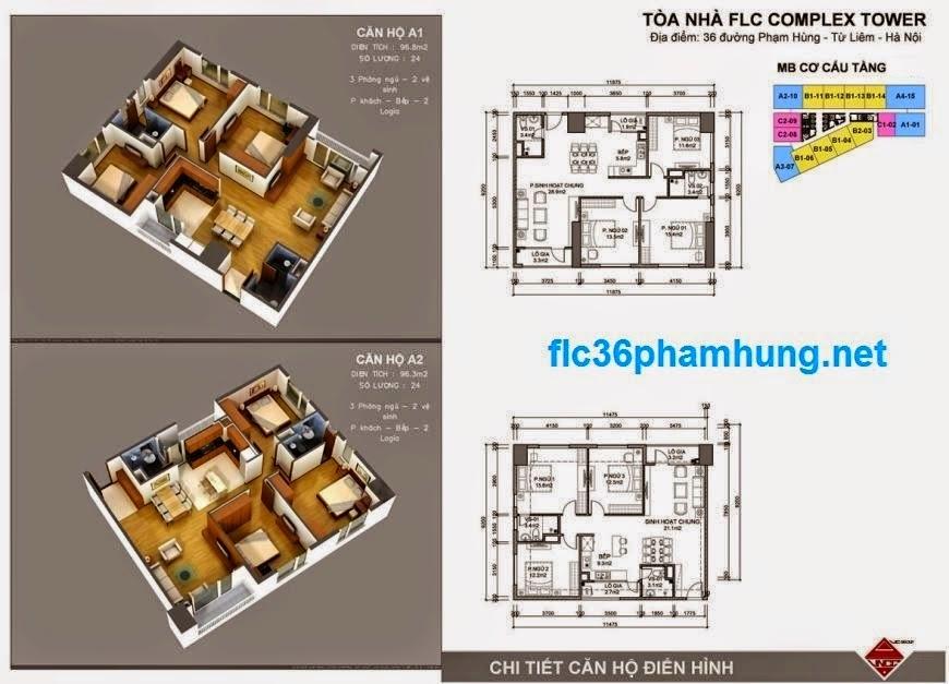 căn hộ FLC 36 Phạm Hùng