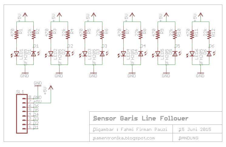 Mamentronika 2015 cara kerja sensor garis robot line follower ccuart Image collections