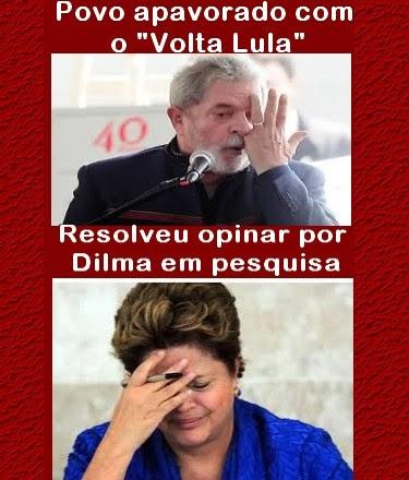 Dilma melhora pontuação em pesquisa