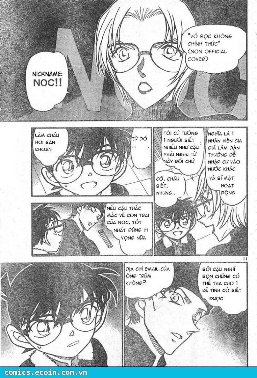 Detective Conan - Thám Tử Lừng Danh Conan chap 596 page 11 - IZTruyenTranh.com