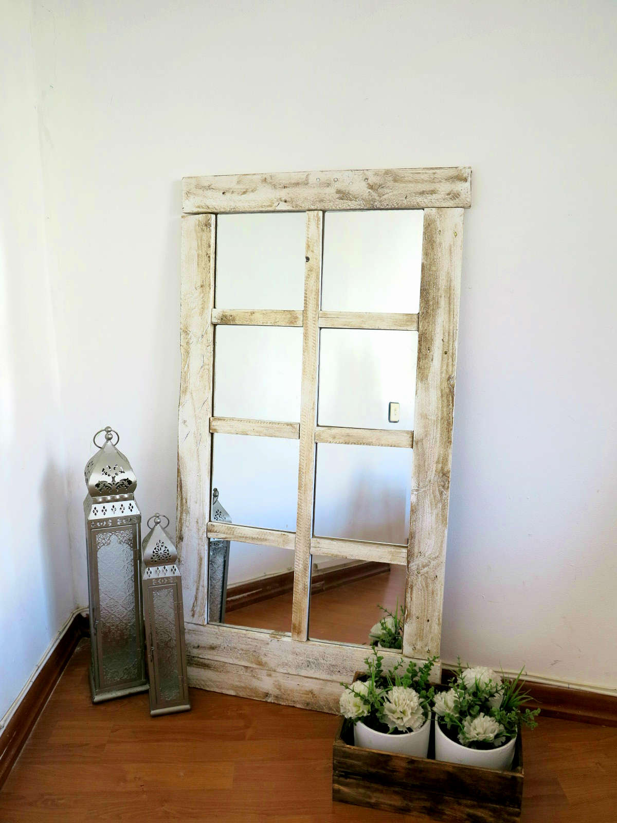 Diy espejo decorar tu casa es for Espejos madera para decorar