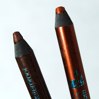 Sephora Collection Flashy Liner Waterproof in 06 Flashy Brown and 16 Flashy Ultra Brown
