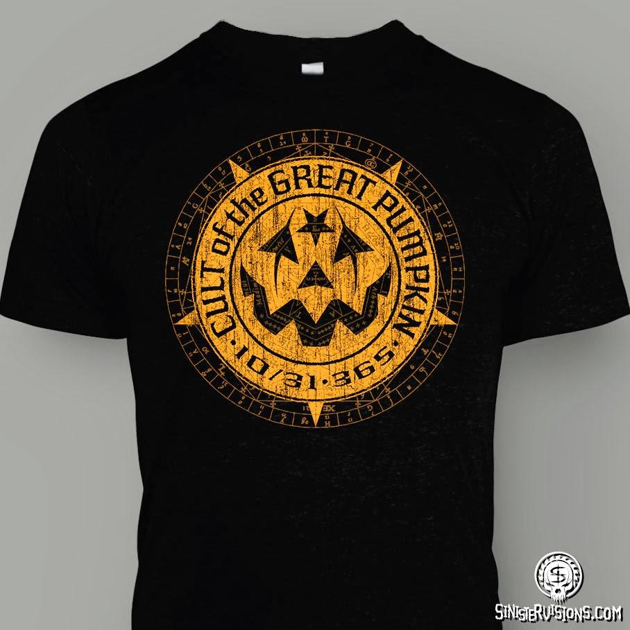 Cult of the Great Pumpkin Logo T-Shirt