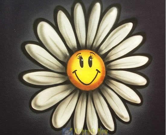 Cartoon Daisy Flower