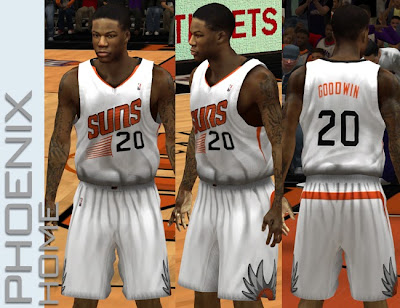 NBA 2K13 Phoenix Suns 2013-14 Home Jersey Patch