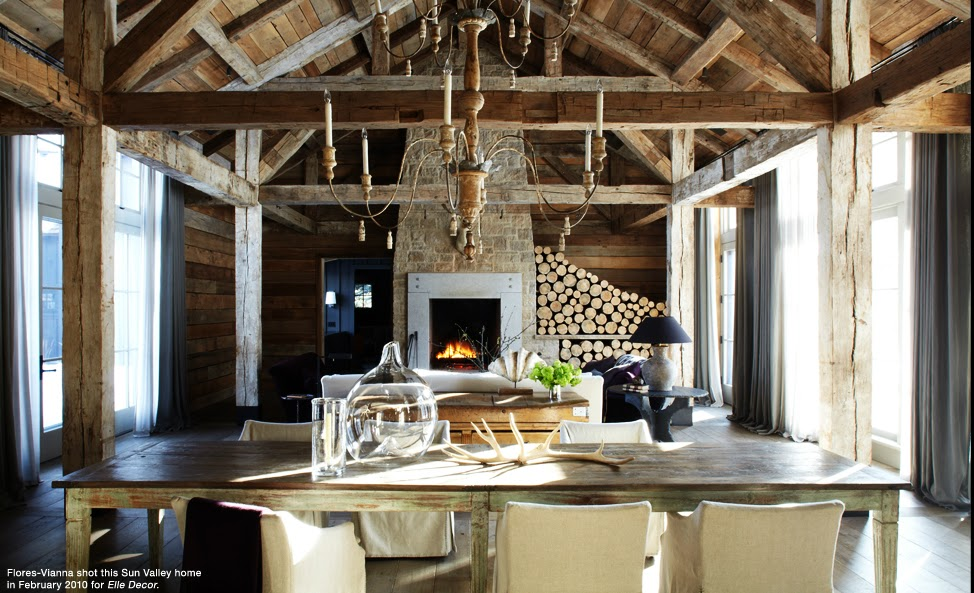 Rustic Luxe Home Decor