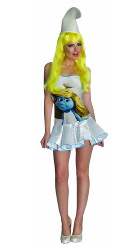 The Smurfs Sexy Smurfette Costume Dress