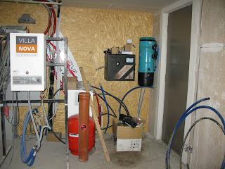 Techniek afwerking energieneutrale woning