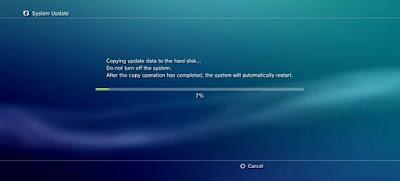 Langkah-langkah Cara Upgrade Firmware PS3 Dan Multimen Terbaru