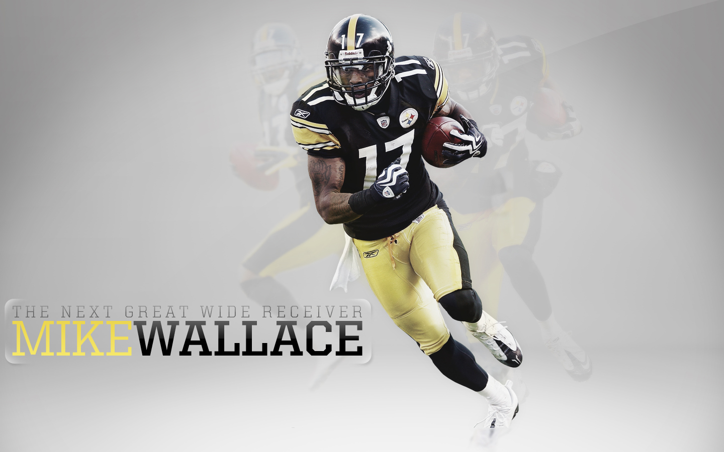 nfl wallpapers mike wallace pittsburgh steelers