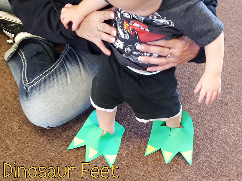 Dinosaur Feet | Choices for Children