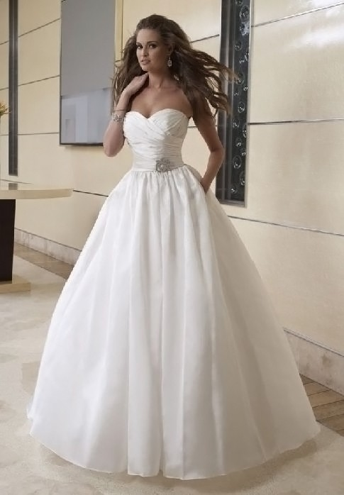 2 in 1 Ball Gown Wedding Dresses