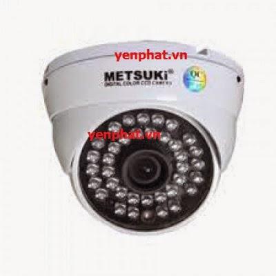 Lắp đặt camera METSUKI MS-2312 IR CCD