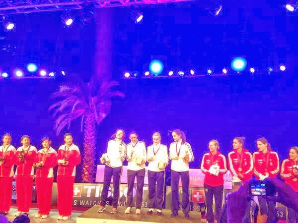 Romania a castigat medaliile de Aur la Cupa Mondiala - Doha