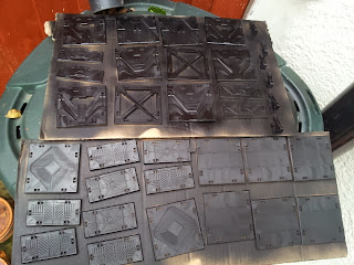 Deadzone terrain tiles weathering painting guide