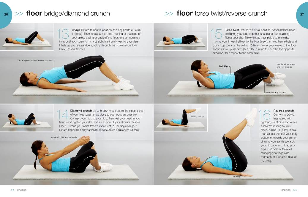 Ab exercises for older women