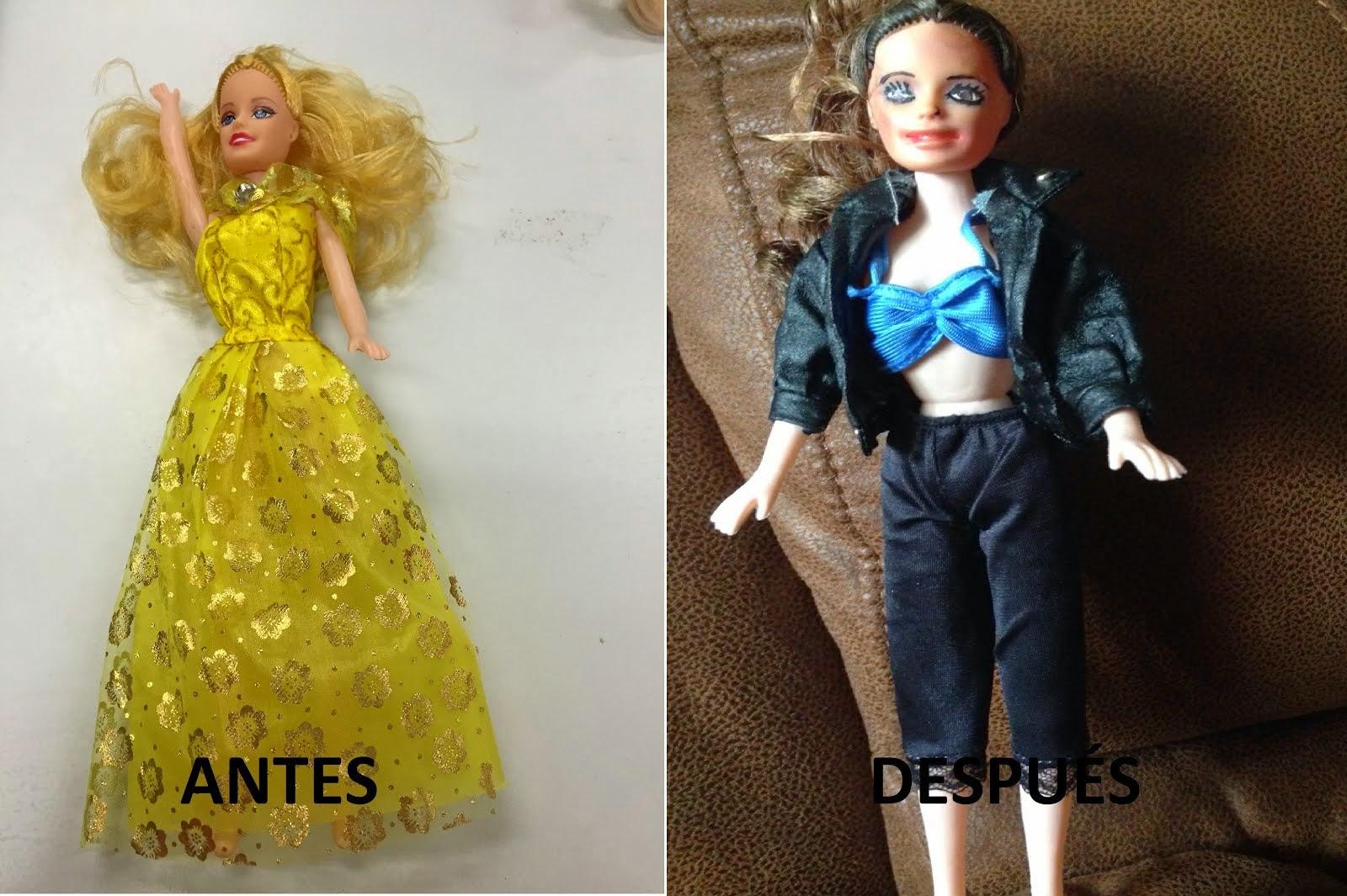 Transformación muñeca