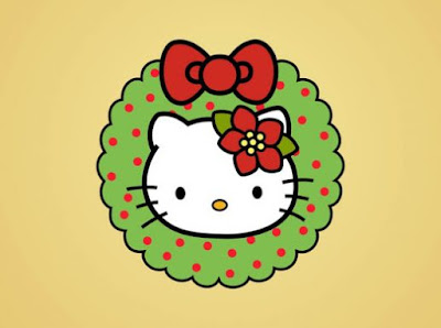 Navidad Hello Kitty clipart