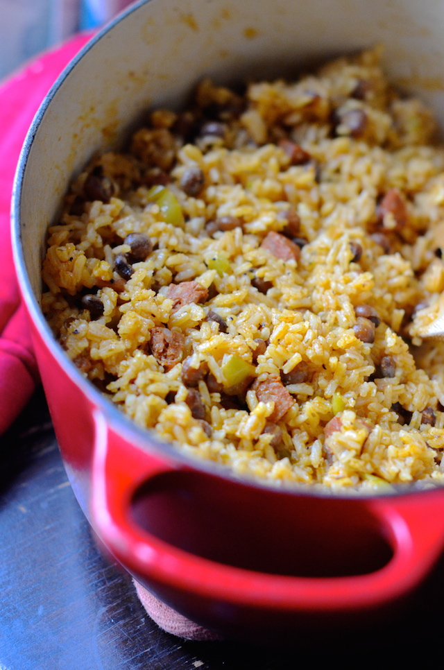 Puerto Rican Arroz con Gandules (Rice with Pigeon Peas ...