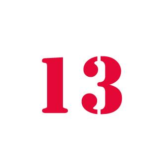 Iznao vertues insoup onn es et r jouissantes du 13 for Peur du nombre 13